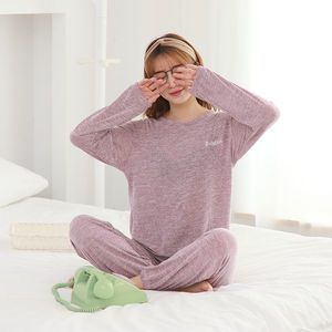 Image 5 - Delle donne Pigiama di Cotone Rosso Sexy Degli Indumenti Da Notte Set Delle Donne Rosa Pajama Set Camicia Lunga Pant Shorts 3 Pezzo/Vestito casual Homewear Grande Formato