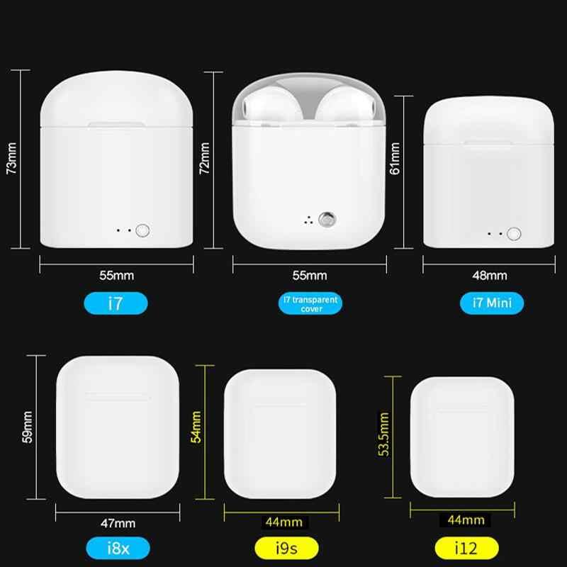 Original I12 Tws Air Bluetooth 5,0 Kopfhörer Ohrhörer Sport Drahtlose Kopfhörer für IPhone Samsung Xiaomi I12tws Headset ICH 12 Tws