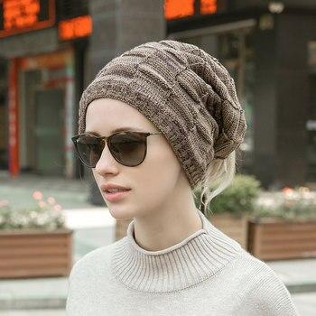 צעיף כובע מחמם לחורף עם שרוך להתאמה