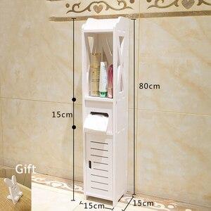 Small Bathroom Vanity Floor Standing Bathroom Storage Cabinet Washbasin Shower Corner Shelf Plants Sundries Storage Racks(China)