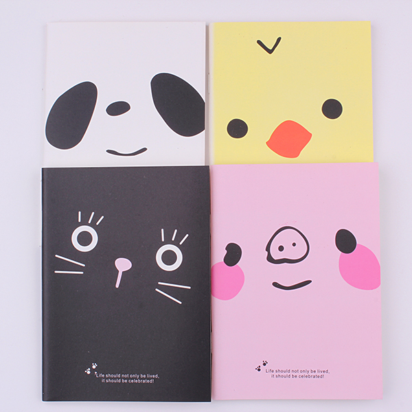 1PC Kawaii Animal Note Pad 28 Pages Stationery School Notes Pig Dog Notebooks Office Kids Supplies Diary (ss-1716)