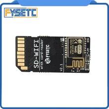 FYSETC SD WIFI עם כרטיס קורא מודול לרוץ ESPwebDev המשולב USB לשבב סידורי אלחוטי שידור מודול עבור S6 F6 טורבו