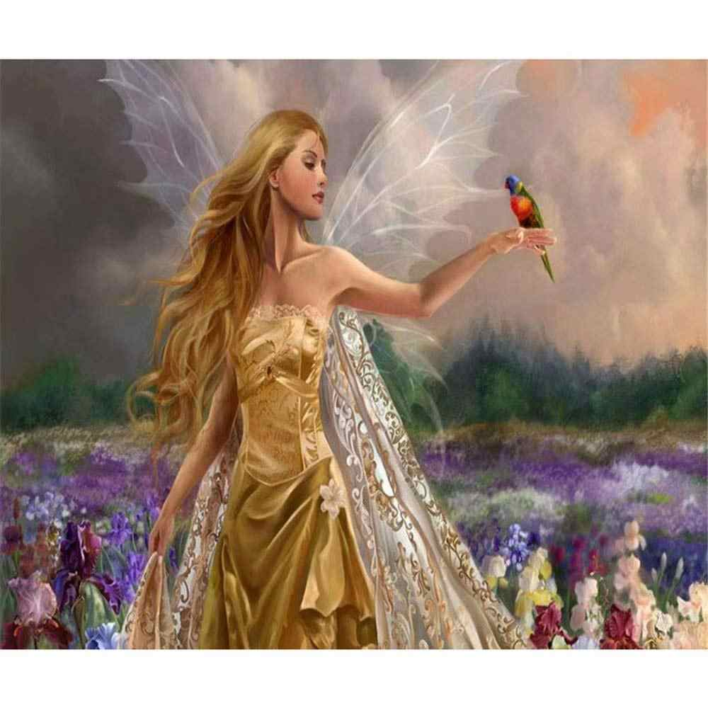 paint by number art painting by numbers anime Butterfly Elves