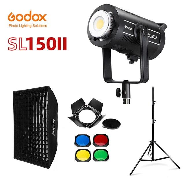 Godox SL150II SL 150W II LED فيديو ضوء 150W بوينس جبل النهار المتوازن 5600K 2.4G اللاسلكية X Systemfor مقابلة