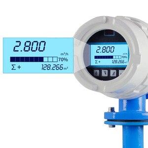 Image 2 - Electromagnetic flow meter water flow meter Flow Range 0~30 m3/h Diameter of sensor DN10~ DN600 Accuracy 0.5% or 1.0%(Optional)
