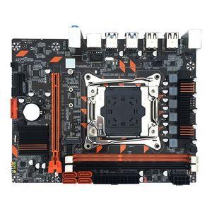X99 DDR3 мини-материнская плата для компьютера, с двойным каналом памяти M.2 интерфейс 63HD для компьютера In-tel X99, черная материнская плата