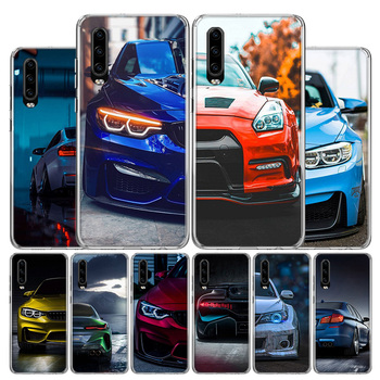 Blue Red black For BMW Phone Case For Huawei P30 P40 P20 P10 Mate 30 20 10 P Smart Z Lite Pro Plus + 2019 Cover Coque Shell image
