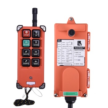 цена на Industrial Remote Control F21-E1B Hoist Crane Lift Button Switch 8 buttons 1 receiver 1 transmitter for truck hoist crane