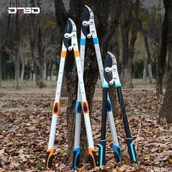 Heavy Pruning Shears Telescopic Ratchet Tree Pruning Shears Garden Branch Pruning Tool can Trim 6cm Diameter Branches