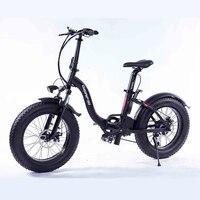 Folding aluminum electric bicycle powerful fat tire 36 v 8ah 350watt ebike beach bike bicycle electric snow
