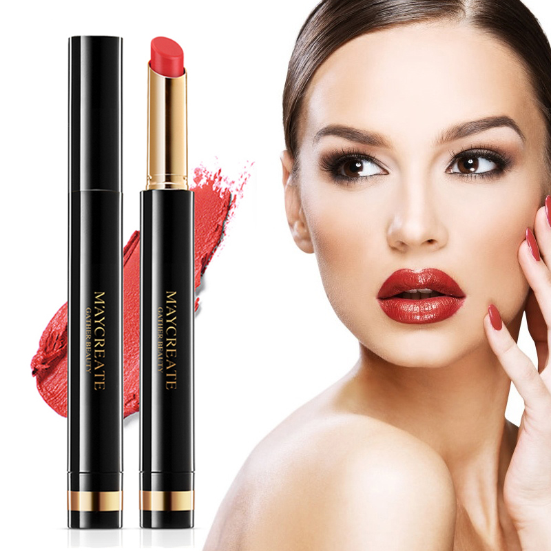 Clearance Lipstick Lip Balm Brighten Waterproof Long Lasting Lips Makeup Cosmetics maquiagem Szminka Lippenstift Huulipuna