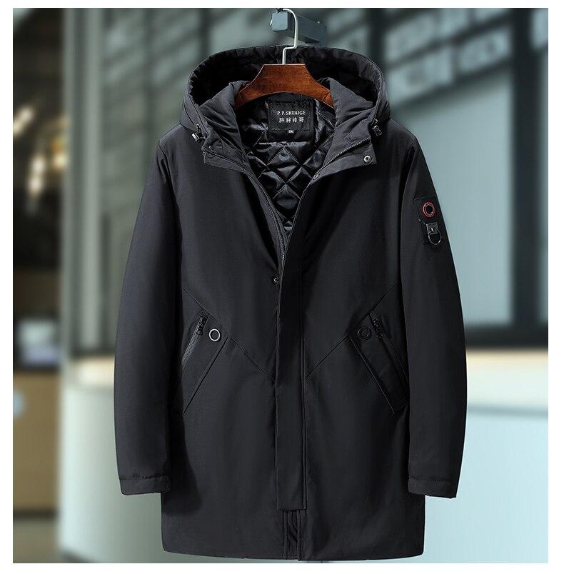 Большие размеры 10XL 9XL 8XL 7XL 6XL черная зимняя куртка мужские толстые парки повседневные куртки ветронепроницаемое теплое зимнее пальто мужско...