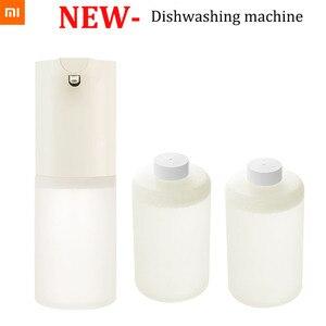 Image 1 - En Stock Xiaomi Mijia Machine à laver la vaisselle moussante à Induction automatique avec Induction automatique infrarouge pour les maisons intelligentes