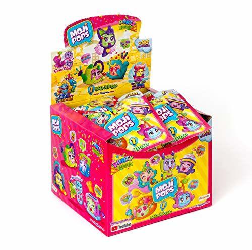 MojiPops Party - Display De 24 Figuras Coleccionables MojiPops