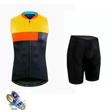 Pro Team SPECIALIZEDING mountain bike jersey bib shorts men's sleeveless bicycle breathable sportswear Ropa Ciclismo triathlon цена