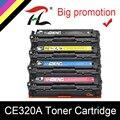 HTL тонер-картридж совместимый для HP CE320A CE321A CE322A CE323A 128A 320A 320 321 322 323 laserjet CM1415 CM1415fn 1415 CP1525