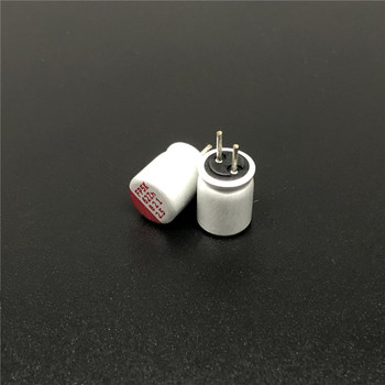 цена на 100pcs/lot Original Fujitsu FP ALL series solid capacitor polymer capacitor DIP solid capacitor free shipping
