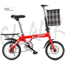 Folding Bicycle High Quality Carbon Steel Material To Work Student To School