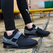 Weightlifting-Shoes Squat Training-Bodybuild Women Gym Elastic-Band Gift Size-36-45 Men's