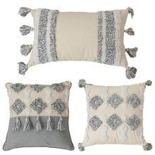 Bohemian Handmade Throw Pillow…