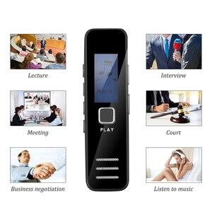 Image 5 - Kebidumei dyktafon cyfrowy nagrywanie MP3 Player 20 godziny mini dyktafon wsparcie karty TF o pojemności 16GB profesjonalny dyktafon
