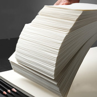 Painting Paper Student Sketching Books Artist 4k 8k Sketching Gouache Paper Thicken Artist Drawing Papel Acuarela 160g