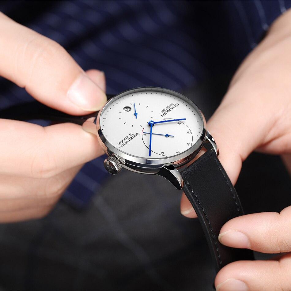 de luxo relógio de pulso luminoso