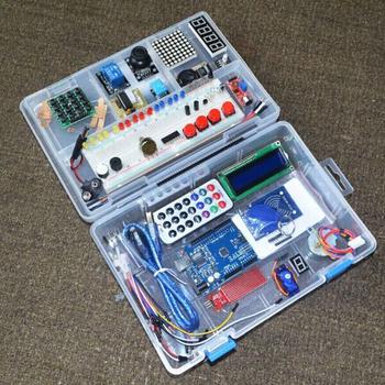 Anduino najnowszy zestaw startowy ulepszona wersja RFID UNO R3 pakiet do nauki opakowanie detaliczne tanie i dobre opinie CN (pochodzenie) Nowy Układ scalony napędu NEWEST RFID Starter Kit