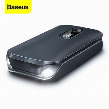 Baseus Portable Car Jump Starter Device Power Bank Emergency 12000mAh High Power 12V Car Battery Booster Auto Starting Device baseus car jump starter power bank 12v auto starting device 800a car booster battery jumpstarter emergency buster jumper start