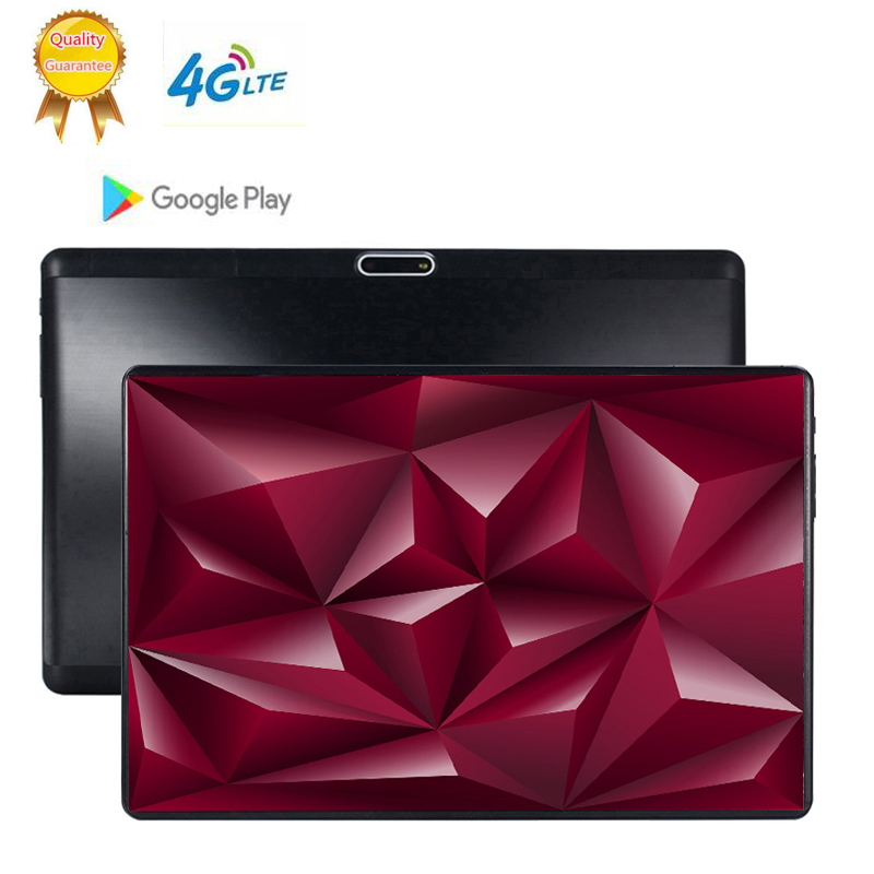 1920x1200 Usb Flash 128GB Pendrive The Tablet 10' WIFI Deca 10 Core Dual Camera 8MP Android 9.0 TabletS PC 4G LTE GPS Bluetooth