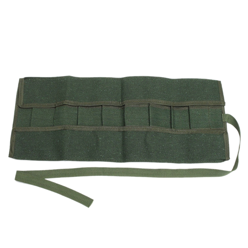 TOP 600x430Mm Japanese Bonsai Tools Storage Package Roll Bag Canvas Tool Set Case