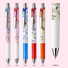 1PC japoński Pentel melody limited długopis żelowy szybkoschnący gładki żel do prasowania czarny cienkopis ink cute cartoon stacjonarne materiały eksploatacyjne