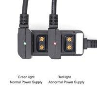 (Ochrona chipów PCB) DTAP do dc2.5 na statyw dslr Power v mount Anton Cable w Złącza od Lampy i oświetlenie na