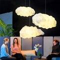 Современный светодиодный светильник в виде облака, светильник для спальни, гостиной, детской комнаты, подвесной светильник s, интерьерный д...