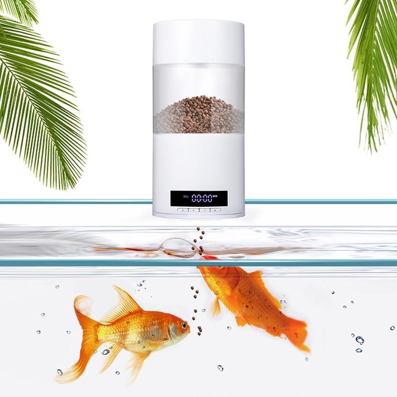 Distributeur automatique de nourriture pour poissons 500ml chargeur automatique Aquarium USB Rechargeable poisson crevettes tortue alimentaire minuterie alimentation