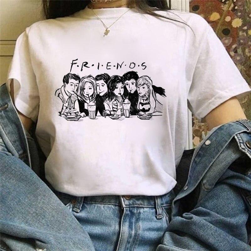 Michelangelo female T-shirt printing graphics T-shirt Harajuku T-shirt tops tee cartoon T-shirt cute anime T-shirt top female