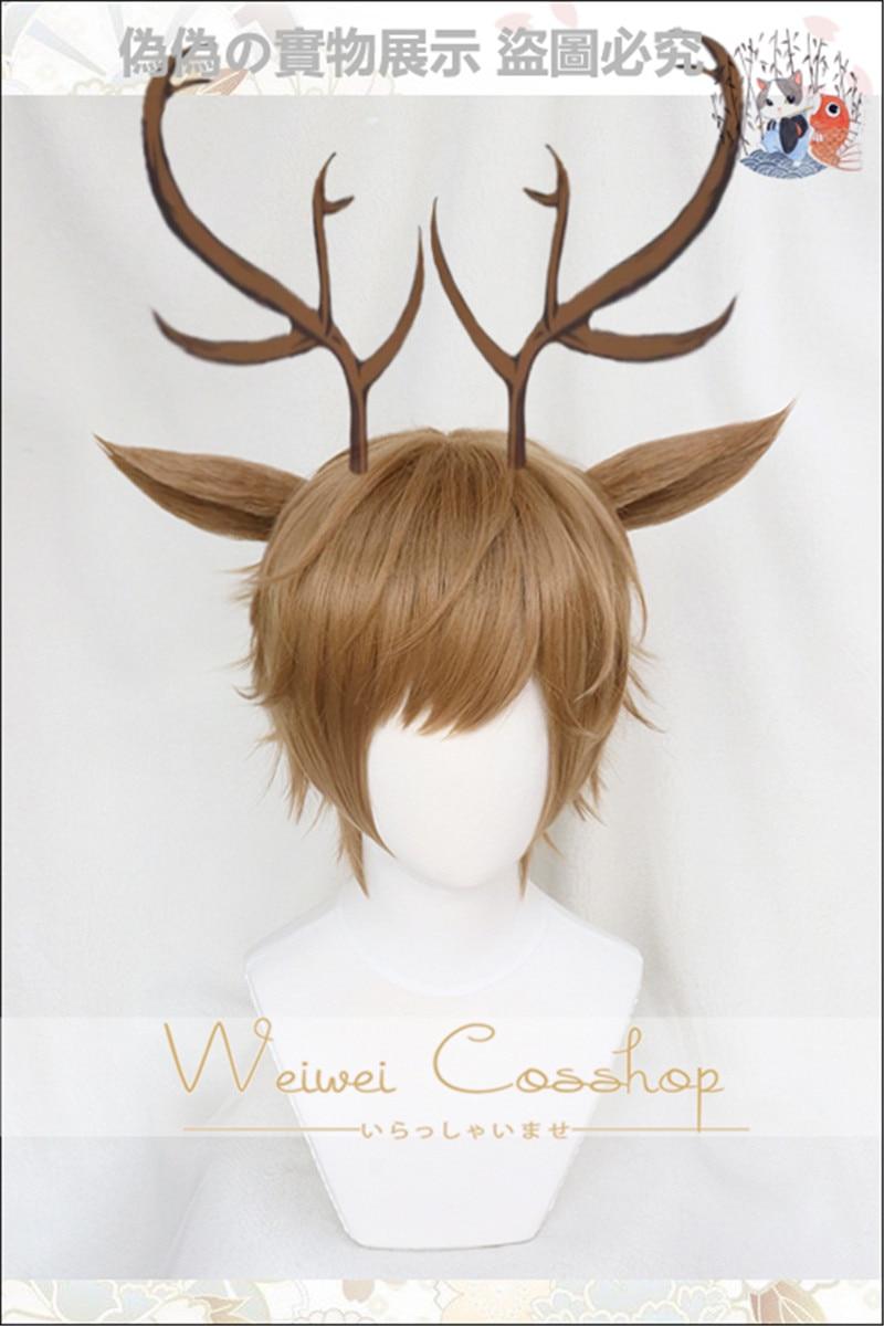 Deer wig with ear