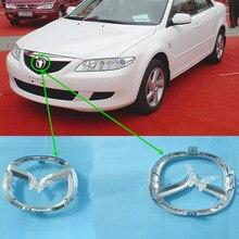 مصد أمامي متوسط للسيارة ، شعار مركزي لمازدا 3 2004 2008 BK ، مازدا 6 2002 2005 GG Mazda 2 2007 2016
