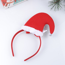Creative Christmas Headband Decorative Headdress Adorable Bowknot Hair Bands Hat Design with Crown Hair Hoops Party Favors Suppl