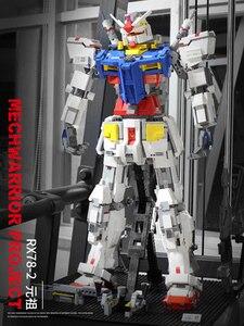 3500 шт. Gundam RX78-2 MOC Super Robot Lepinly Technic модель трансформации строительные блоки кирпичи игрушка для мальчика рождественские подарки
