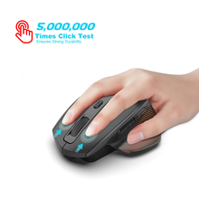 SeenDa Rechargeable 2.4G Wireless Mouse Silent Click Gaming Mouse for Notebook Laptop Desktop USB Receiver Mute Mice