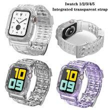 Ремешок резиновый для apple watch 6 se 38/40/42/44 мм мягкий