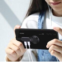 타입 C 3.5 잭 이어폰 USB C 3.5mm AUX 헤드셋 충전기 OTG 어댑터 화웨이 P20 P30 프로 삼성 S8 S9 S10 LG 오디오 케이블