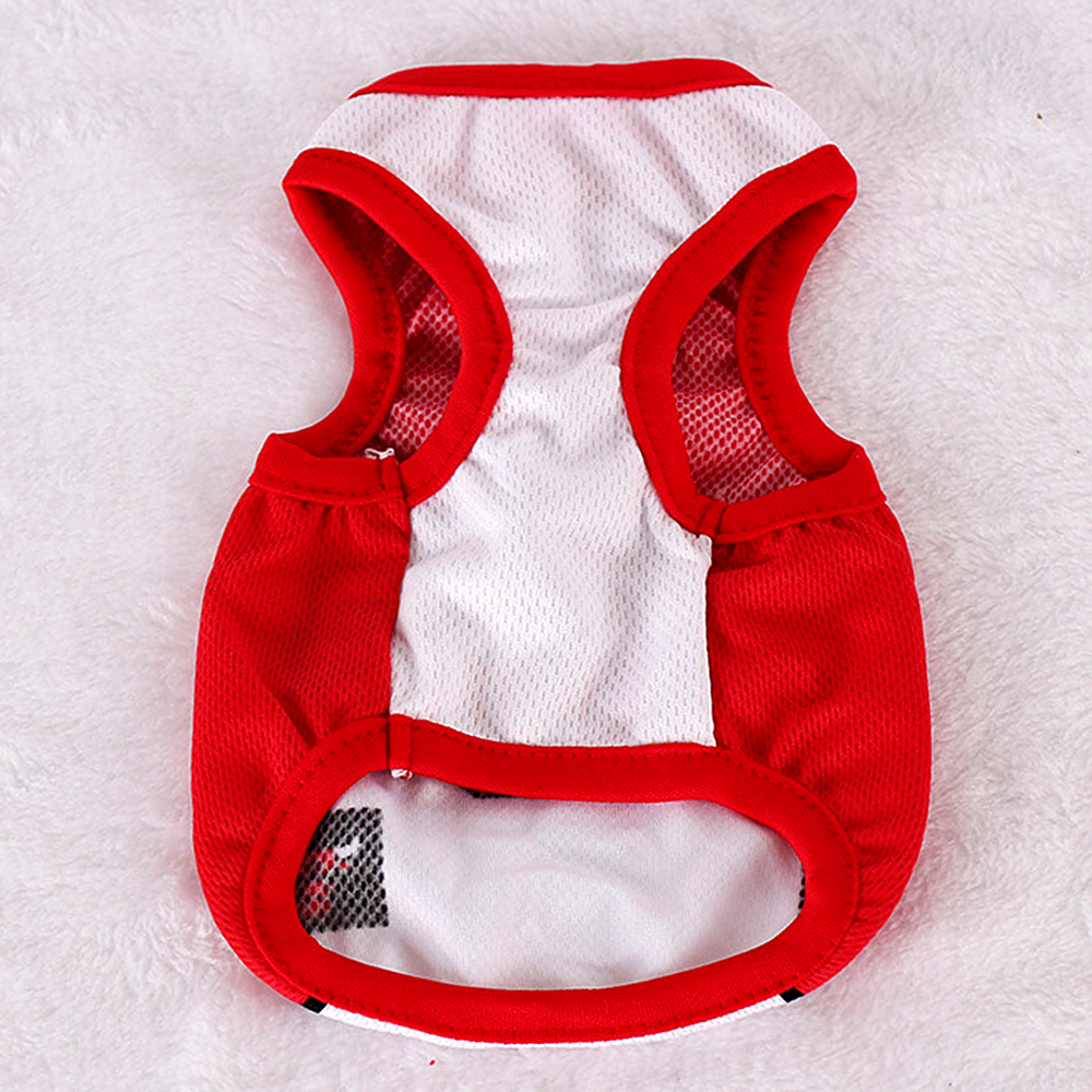T Shirt Dog Clothes For Small Dogs Pets Clothing Funny Jersey Summer Cheap Dog Clothes Vest Hundeshirt Chihuahua Clothes T-Shirt
