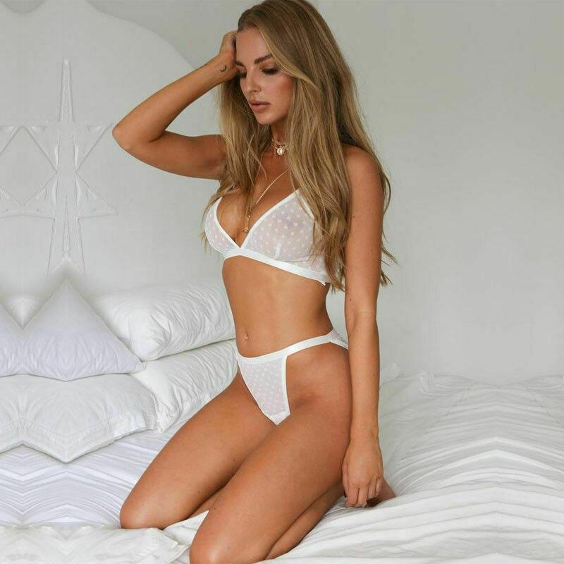 Sexy Lace Women Lingerie Nightwear Underwear G-string Babydoll Sleepwear Dress Bikini Set Beachwear