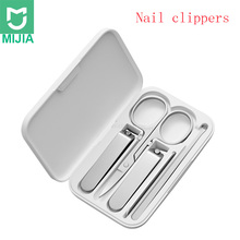 Xiaomi mijia 5pcs/set Manicure Nail Clippers Pedicure Set Portable Travel Hygiene Kit Stainless Steel Nail Cutter Tool Set