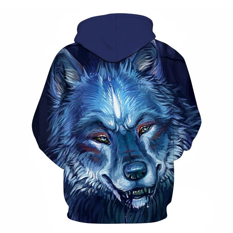 Wolf Printed Women 3d Hoodies Brand Sweatshirts Girl Boy Jackets Pullover Fashion Tracksuits Animal Streetwear Lovers Sweatshirt 64