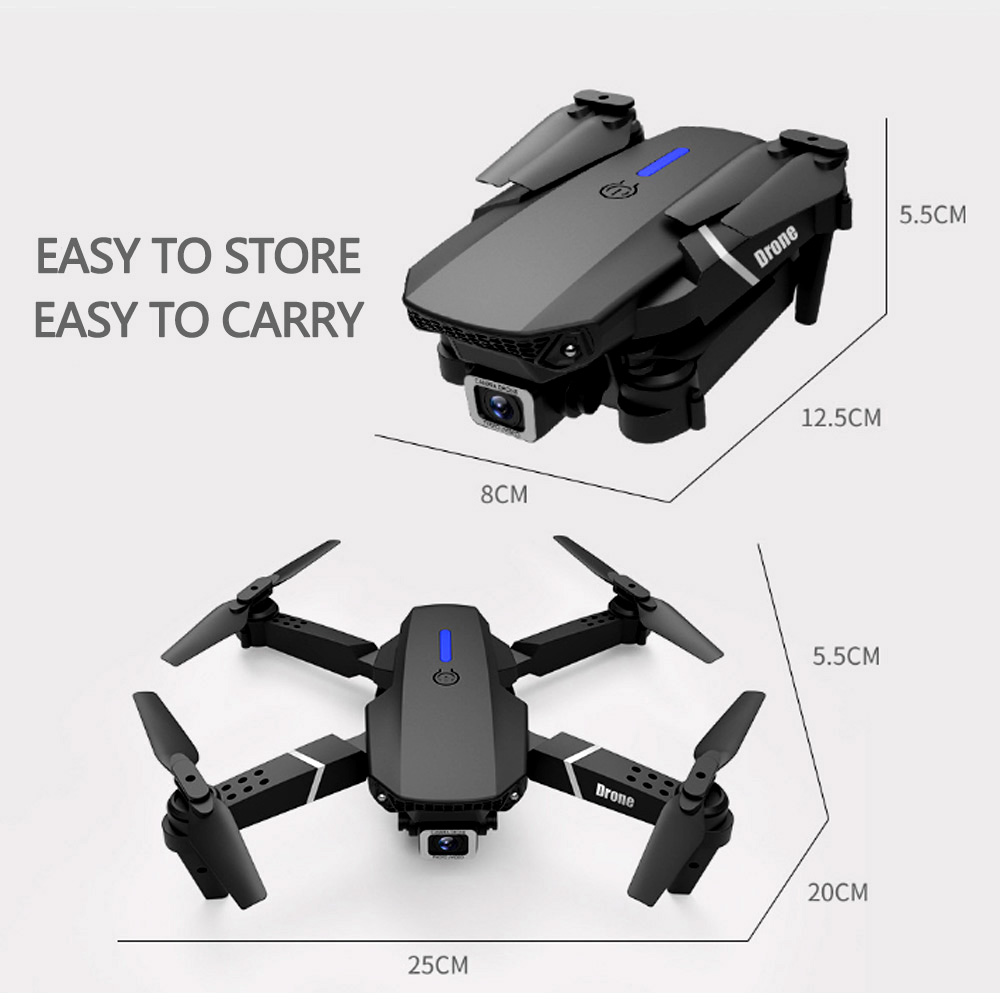 drone that is easy to store and transport