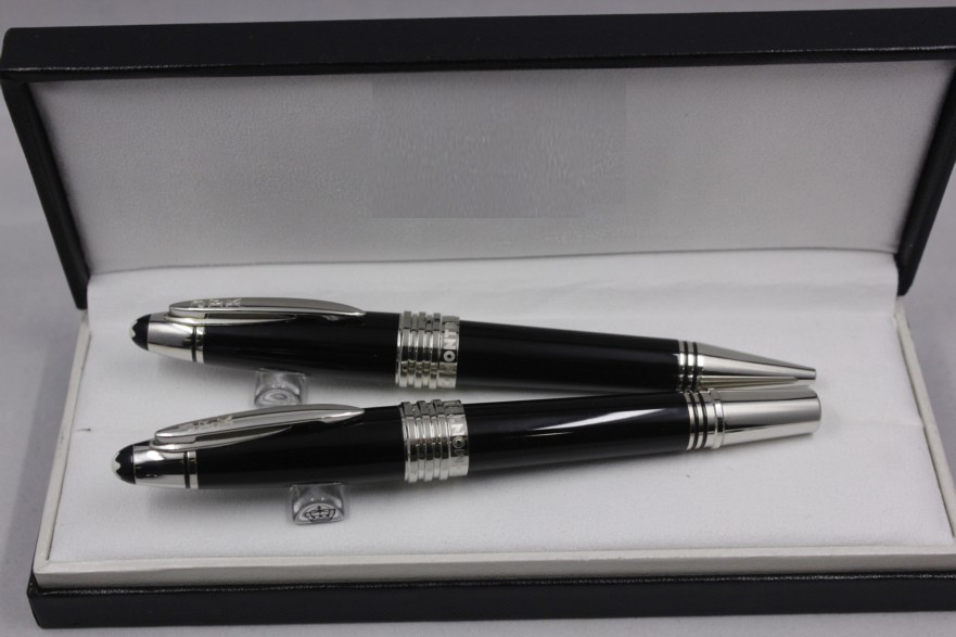 Wakaka Mon Limited Writers Edition John F. Kennedy Special Edition Blanc Ink Roller Ballpoint Fountain Pen 111046