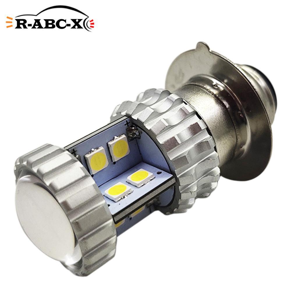 Купить 1 шт 20smd p15d h6m p26s светодиодная лампа фара мотоцикла неполярность